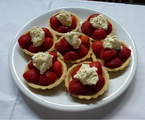 Kathleen's strawberry tarts