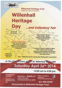 Flyer for Willenhall Heritage Day