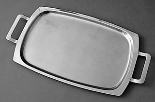 Oblong Tray with Handles