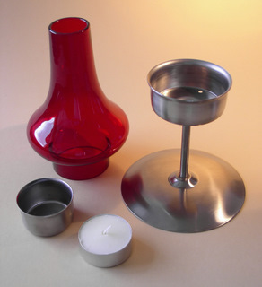 Onion candle holder components