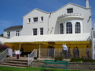 The Haling Dene Centre where the annual Old Hall Summer Fair is held