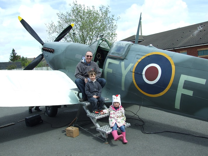 Willenhall Heritage Day - Spitfire
