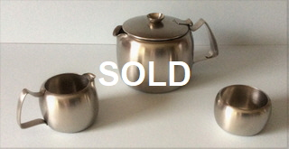 Connaught 3 piece tea set 1.5pt satin