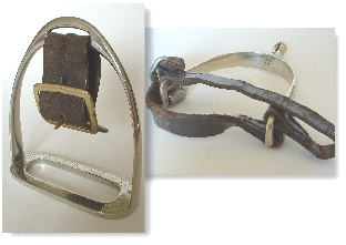 Old Hall stirrups