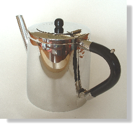 Worlds first stainless steel teapot